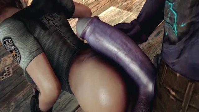 Sanal Sex İçin Üç Boyutlu Animasyon Fantezi Sikişi